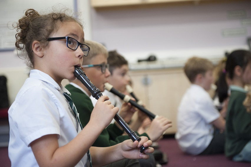 Children at Hill View can enjoy a wide range of extra-curricular activities.