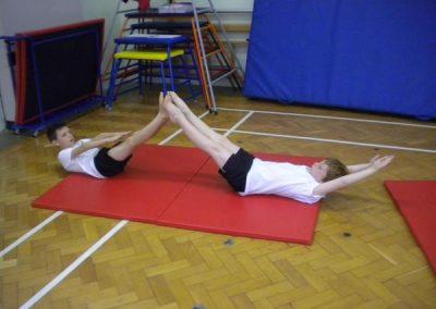 Children enjoy a wide range of sports activities.